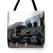 Rio Grande Railway Baldwin Built In 1903 No. 464 Circa 1955 Tote Bag