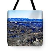 Rio Grande River Canyon-arizona Tote Bag