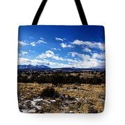 Rio Grande River Canyon-arizona V2 Tote Bag