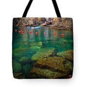 Riomaggiore Bay Tote Bag