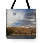 Riparian Zone Snake River Tote Bag