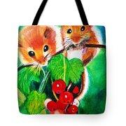 Ripe-n-ready Cherry Tomatoes Tote Bag