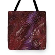 Ripple Ruby Tote Bag