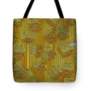 Rippled Dice Abstract Tote Bag