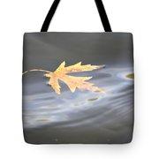 Rippled Maple Leaf Tote Bag