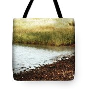 Rippled Water Rippled Reeds Tote Bag