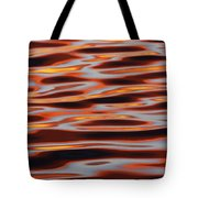 Ripples At Sunset Tote Bag