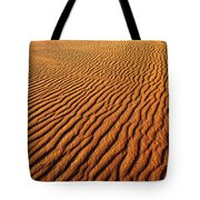 Ripple Patterns In The Sand 1 Tote Bag