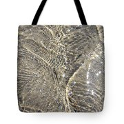 Ripples In The Sea Tote Bag