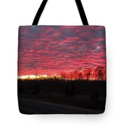 Ripples Of Elevated Lava Tote Bag