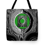 Ripples Of The Green Tote Bag