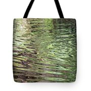 Ripples On Florida River Tote Bag