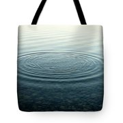 Ripples On Lake Surface, Maine Tote Bag