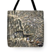 Ripples On The Sea Shore Tote Bag