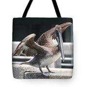 Pier Pelican Tote Bag
