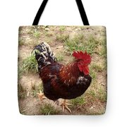 Rise And Shine Cock A Doodle Do Tote Bag