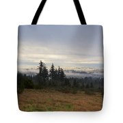 Rising From The Mist Tote Bag