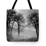 Rising Mists In The Bald Hills Tote Bag