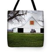 Rising Star Quilt Barn Tote Bag