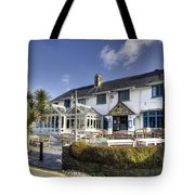 Rising Sun At St Mawes  Tote Bag
