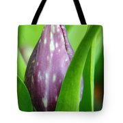 Rising To The Bloom Tote Bag