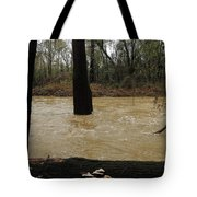 Rising Waters With Timber Tote Bag