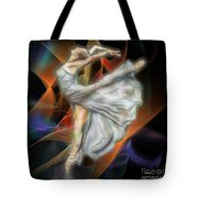 Rite Of Spring - Square Version Tote Bag