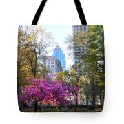 Rittenhouse Square In Springtime Tote Bag