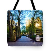 Rittenhouse Square Park Tote Bag
