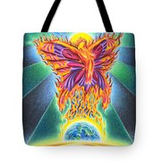 Ritual Of The Firefly Tote Bag