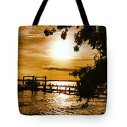 River Acres Jaynes Sunset Tote Bag