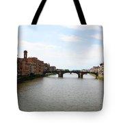 River Arno Tote Bag
