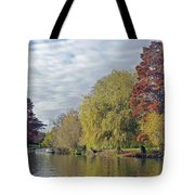 River Avon In Autumn Tote Bag