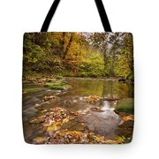 River Blyth In Autumn Vertical Tote Bag