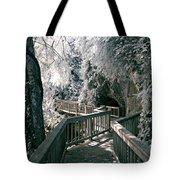River Boardwalk Tote Bag