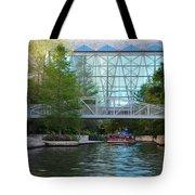River Boating  Tote Bag