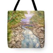 River Bridge Tote Bag