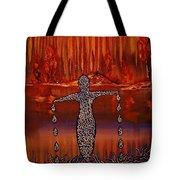 River Dance Tote Bag