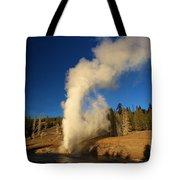 River Eruption Tote Bag