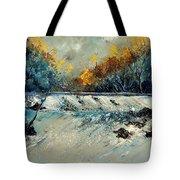River Fall Tote Bag