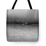 River Fog Tote Bag