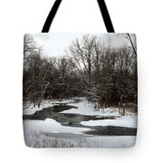 River Freeze Tote Bag