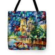 River In Paris Tote Bag