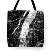 River In The Cliff Tote Bag