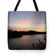 River In The Eveninglight - Sanibel Island Tote Bag