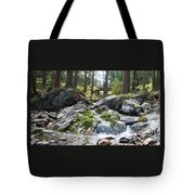 A River Scene In Wicklow, Ireland Tote Bag