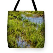 River Kennet Marshes Tote Bag