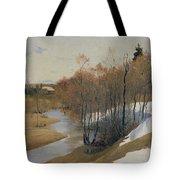 River Kordonka Tote Bag