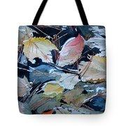 River Leaves Tote Bag