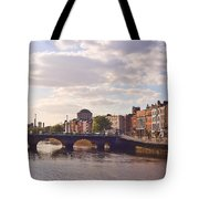 River Liffey 2 - Dublin Tote Bag